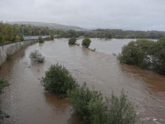 Flooded Tawe